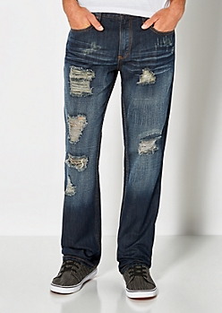 Distressed Boot Jean