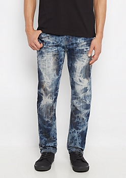 Acid Washed Slim Jean