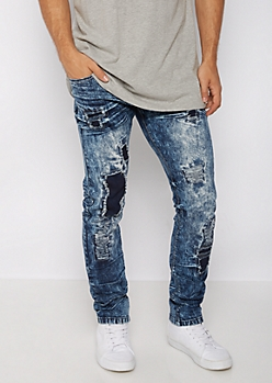 Flex Ripped & Repaired Skinny Jean