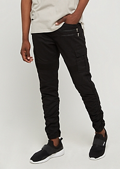 Cargo Moto Ruched Jogger