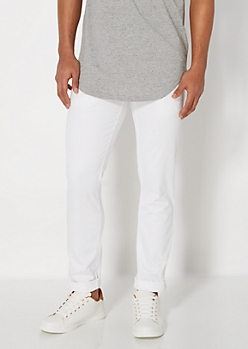 Freedom Flex White Skinny Pant