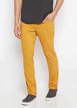 Freedom Flex Mustard Skinny Pant
