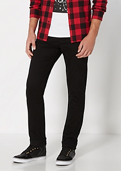 Freedom Flex Essential Black Twill Skinny Pant