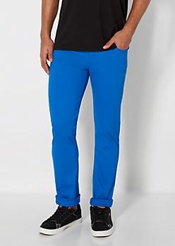 Freedom Flex Royal Blue Skinny Pant