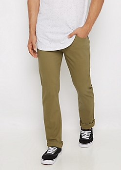 Freedom Flex Olive Skinny Pant