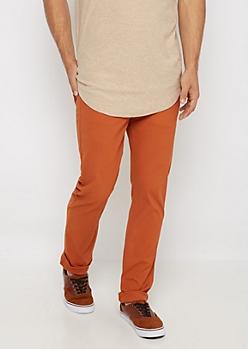 Freedom Flex Burnt Orange Skinny Pant