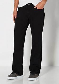Black Twill Boot Pant