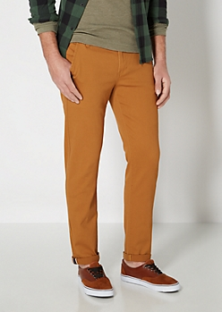 Freedom Flex Camel Slim Chino