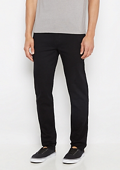 Freedom Flex Black Chino Pant