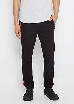 Freedom Flex Black Twill Jogger