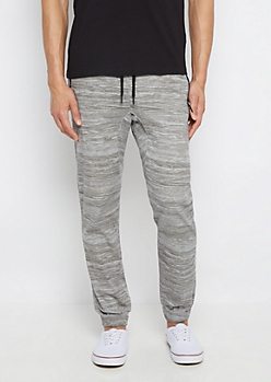 Freedom Flex Gray Space Dye Jogger