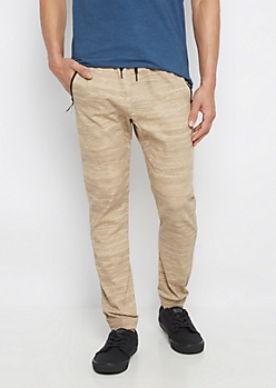Freedom Flex Oatmeal Space Dye Jogger