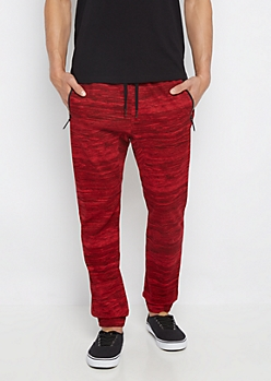 Freedom Flex Red Space Dye Jogger