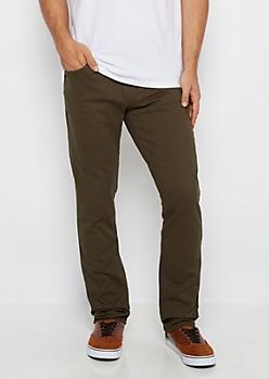 Olive Freedom Flex Skinny Pant