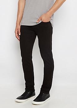 Flex Black Super Skinny Twill Pant