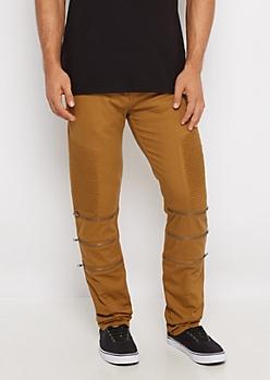 Camel Flex Moto Skinny Pant