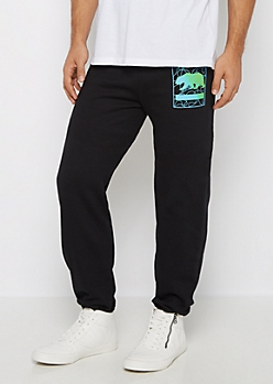 California Swirl Fleece Jogger
