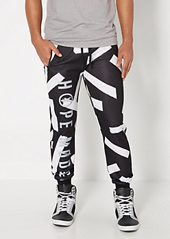Abstract Hope Mode Reflective Jogger