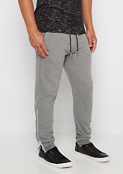 Reflective Zipper Accent Jogger