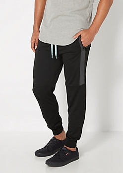Mint Pop Reflective Panel Jogger