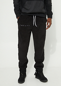 Savage Sherpa Black Jogger