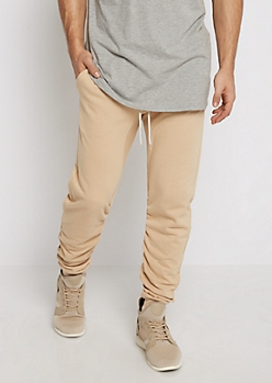 Sand Ruched Jogger