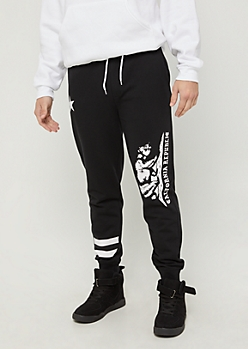 Black Cali Republic Fleece Jogger
