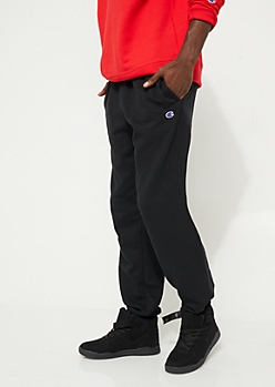 Black Fleece Lined Jogger By Champion