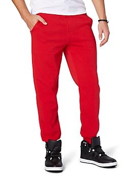 Red Deep Pocket Jogger