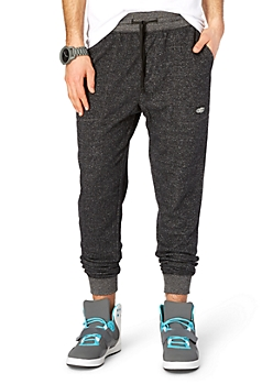 Charcoal Grey Marled Static Jogger