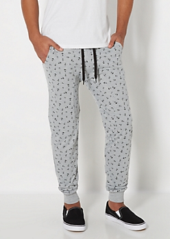 Tossed Anchor Jogger