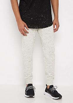 Marled Soft Knit Jogger