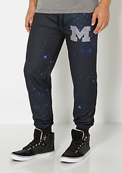 Michigan Wolverines Galaxy Jogger