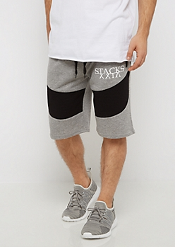 Stacked Moto Knit Short