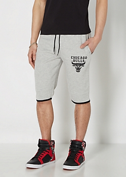 Chicago Bulls Zip Pocket Short
