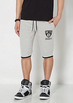 Brooklyn Nets Zip Pocket Short