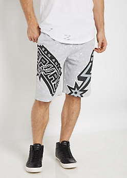 San Antonio Spurs Paint Splattered Knit Short