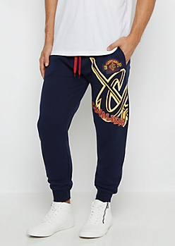 Cleveland Cavaliers Patched Fleece Jogger