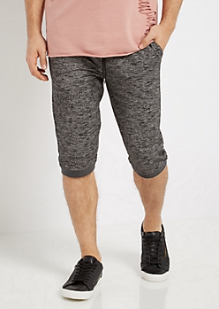 Slub Knit Jogger Short