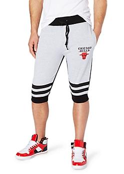Chicago Bulls Striped Jogger Short