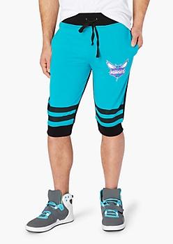 Charlotte Hornets Striped Jogger Short