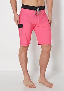 Pink Board Short