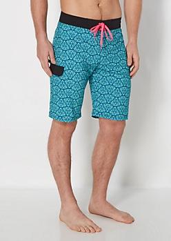 Blue Gem Board Short