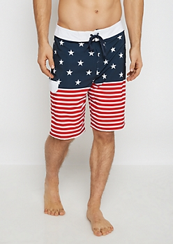 Americana Board Short