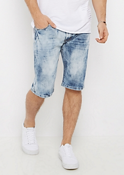 Acid Washed Jean Short
