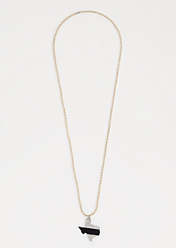 Texas Ball Chain Necklace