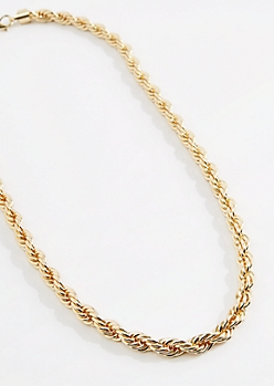 Thick Rope Chain Necklace