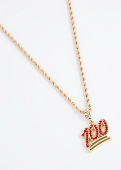 100 Percent Rope Chain Necklace