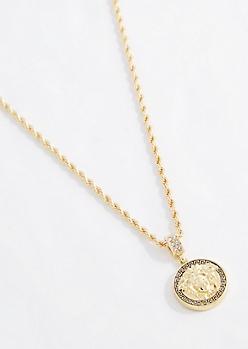 Roman Goddess Necklace