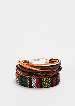 Braided Hipster Bracelet Set